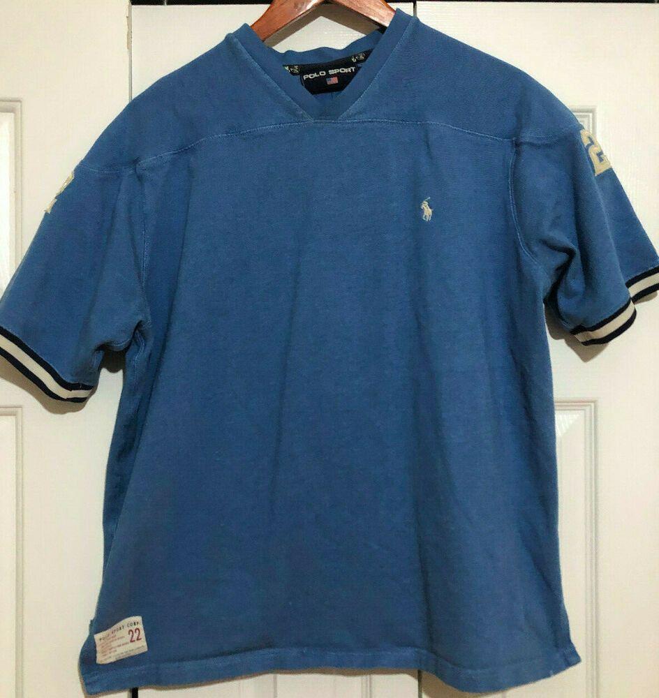 Polo Sport Corp Vintage Ralph Lauren Jersey No. 22
