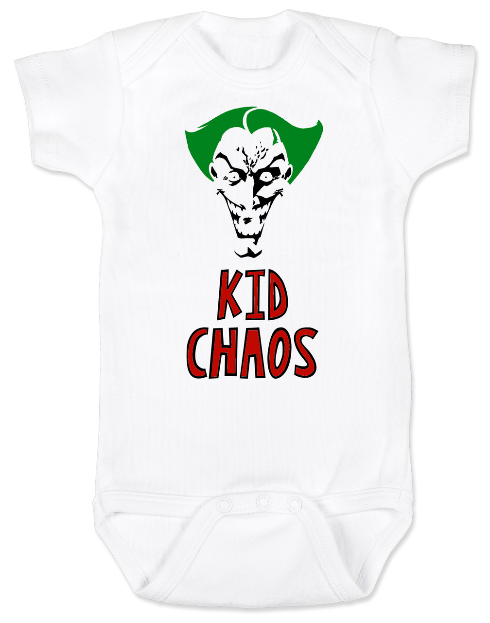 2c96553b Kid Chaos Joker Baby Bodysuit | For my future kids<3 | Halloween ...