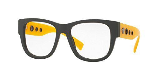 Versace VE3230 Eyeglass Frames 519454 54mm Lens Diameter Matte Grey ...