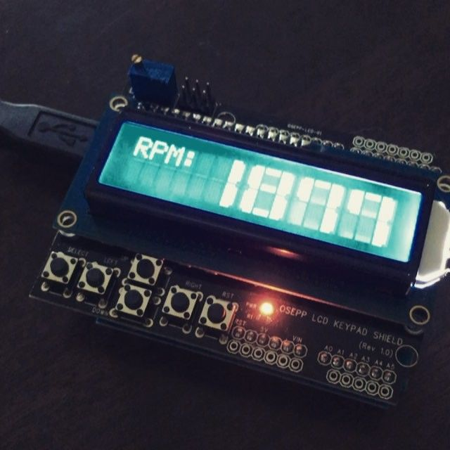Playing with the 16x2 lcd shield and the arduino uno testing some arduino fandeluxe Images