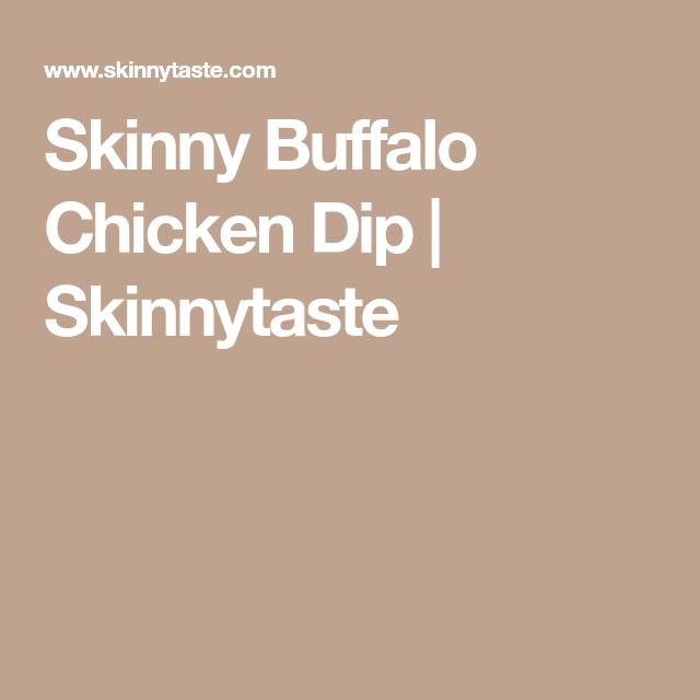 buffalo chicken dip skinnytaste