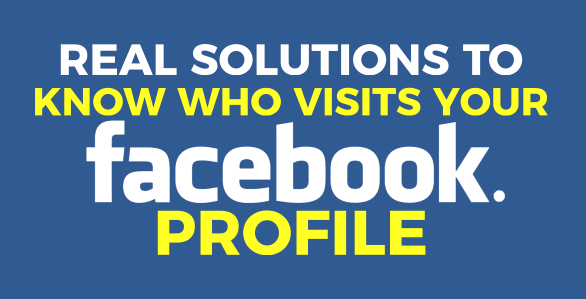 How To Really See Who Viewed Your Facebook Profile In 2020 My Facebook Profile Facebook Profile Facebook Avatar