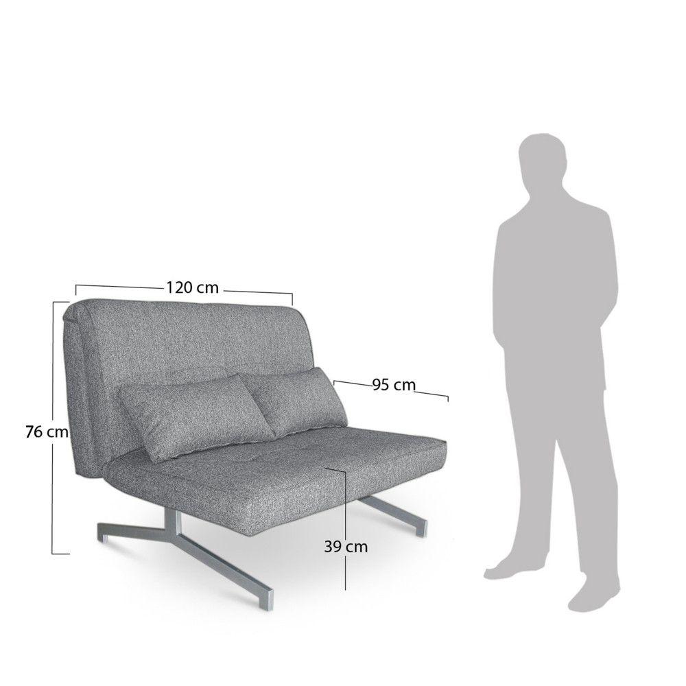 Canape Design Bz Convertible 2 Places Marco Structure Tissu Inconnu 399 Euros En 2 Pl 299 Euros En 1 Pl Canape Canape Convertible Canape Design