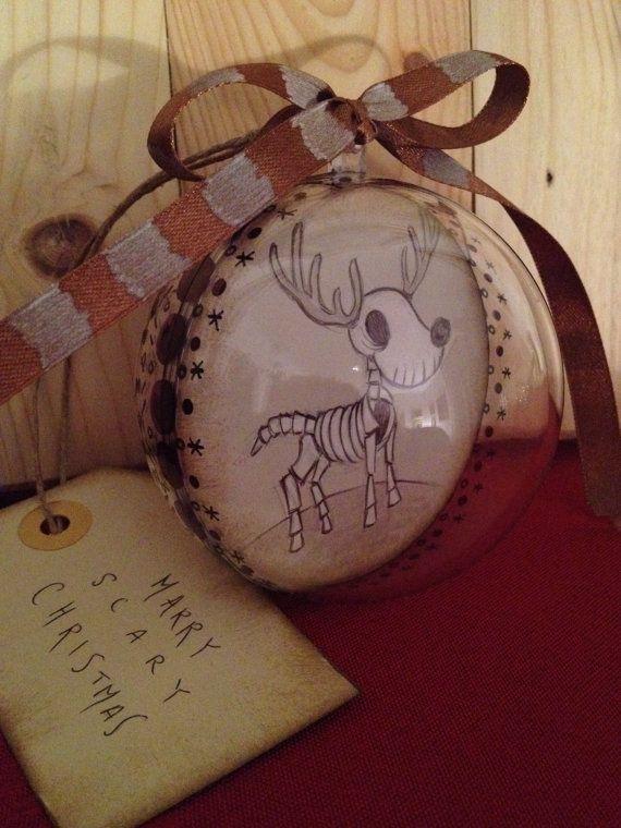 Rudolf Decorazione per albero di Natale con sfera in di Matrioske