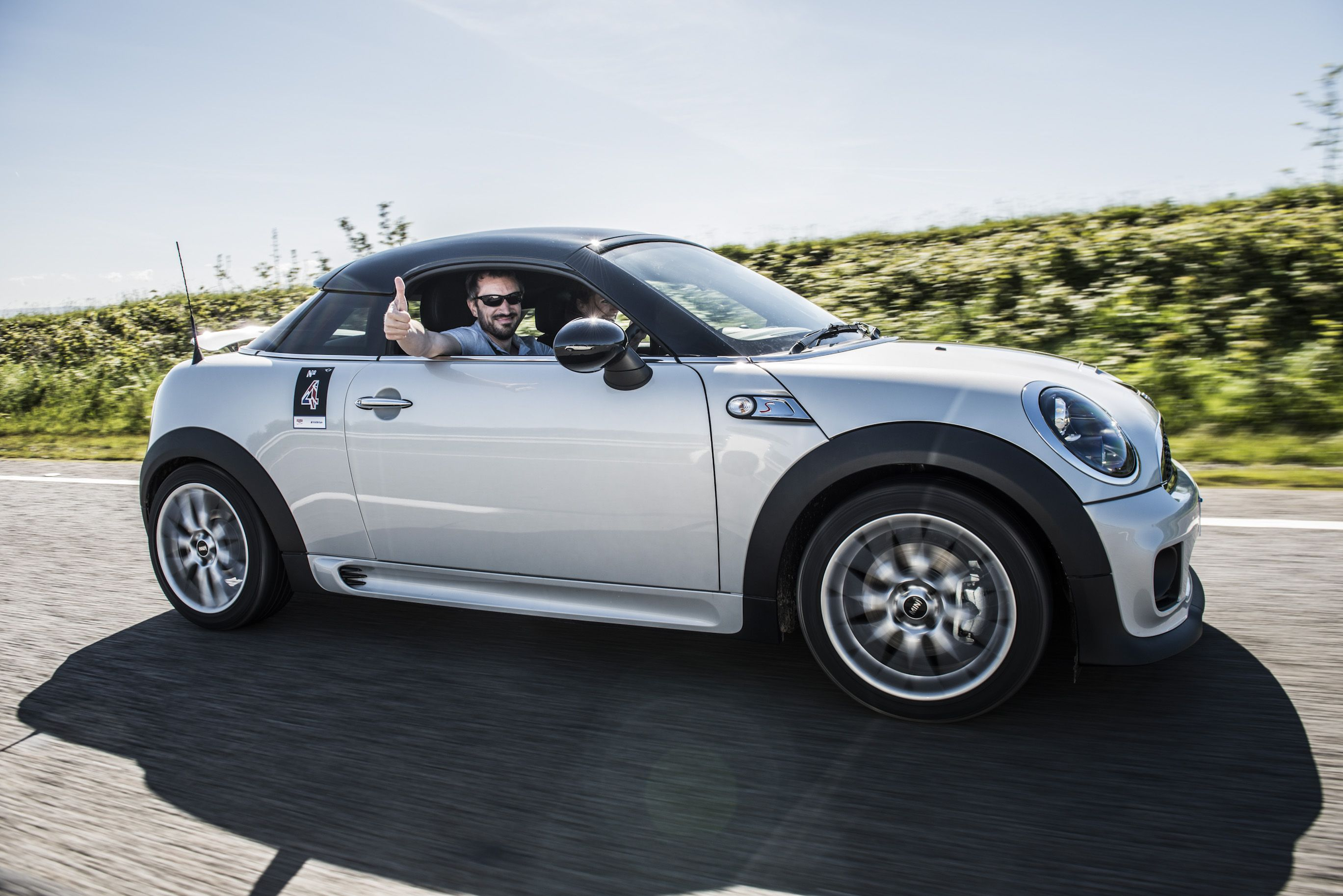 Start Your Day The Mini Coupé Way Mini Cooper Mini Coupe Mini