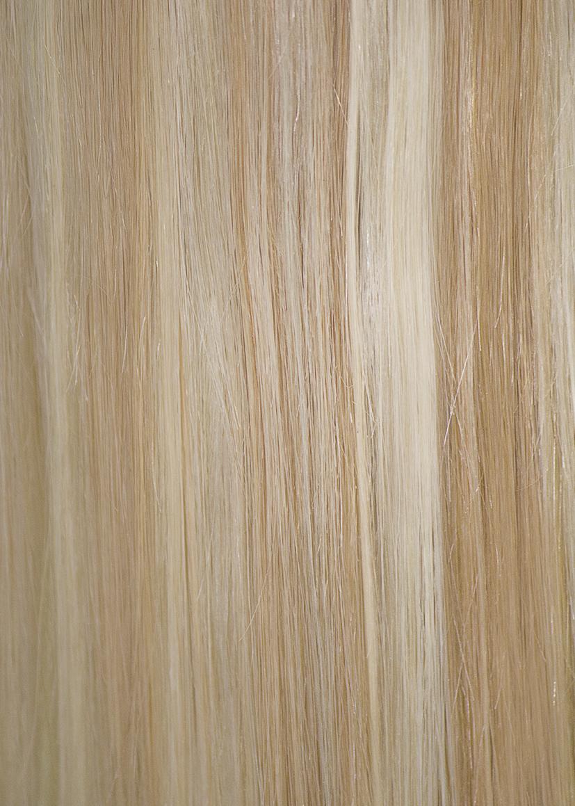 27613 Honey Blondplatinum Blond Ds Secret Wire Human Remy Hair