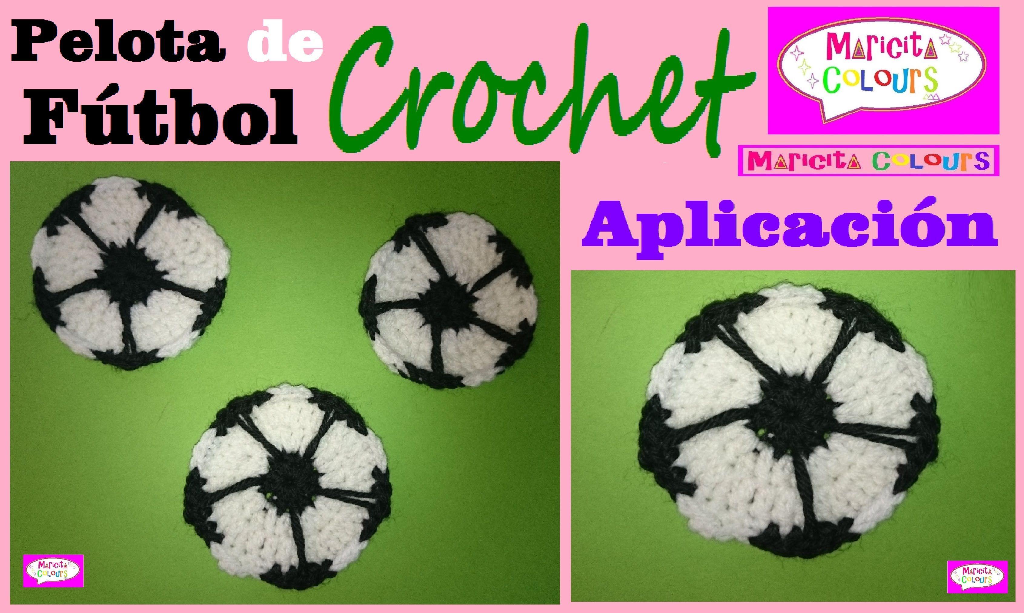 Pelota/Balón de Fútbol Crochet Ganchillo \