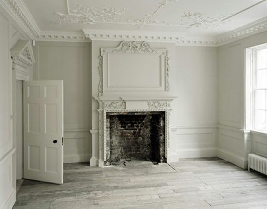 A Study In White Love That Flooring Victorian Interior