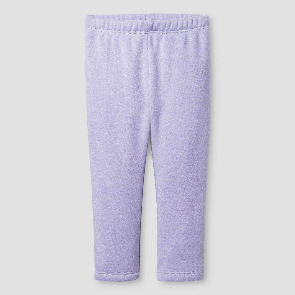 Baby Girls' Fleece Lined Leggings Cat & Jack - Lavender 18M ...