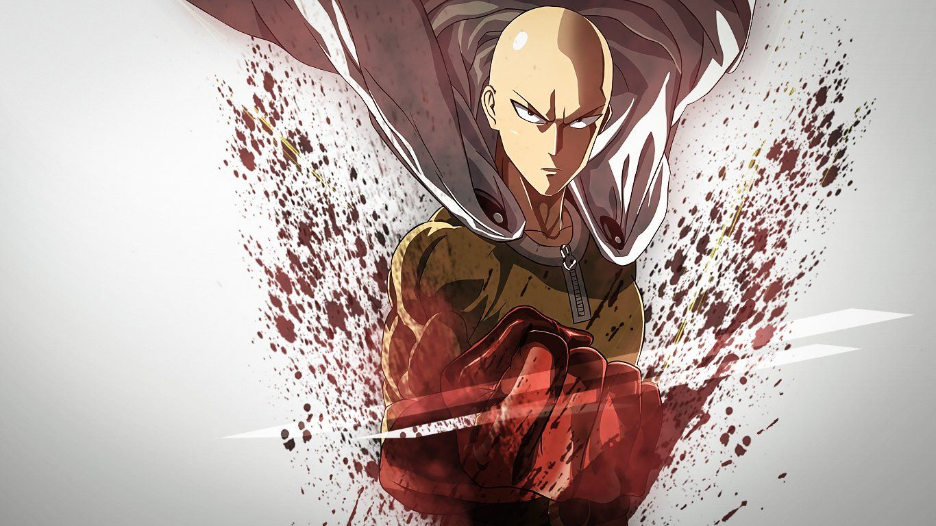 6 Anime Characters Who Can Challenge Saitama : Anime one punch man saitama wallpaper