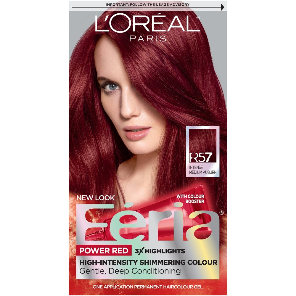 L Oreal Paris Feria Multi Faceted Shimmering Color 6 3 Fl Oz 20 Natural Black 1 Kit In 2021 Best Red Hair Dye Dyed Red Hair Feria Hair Color