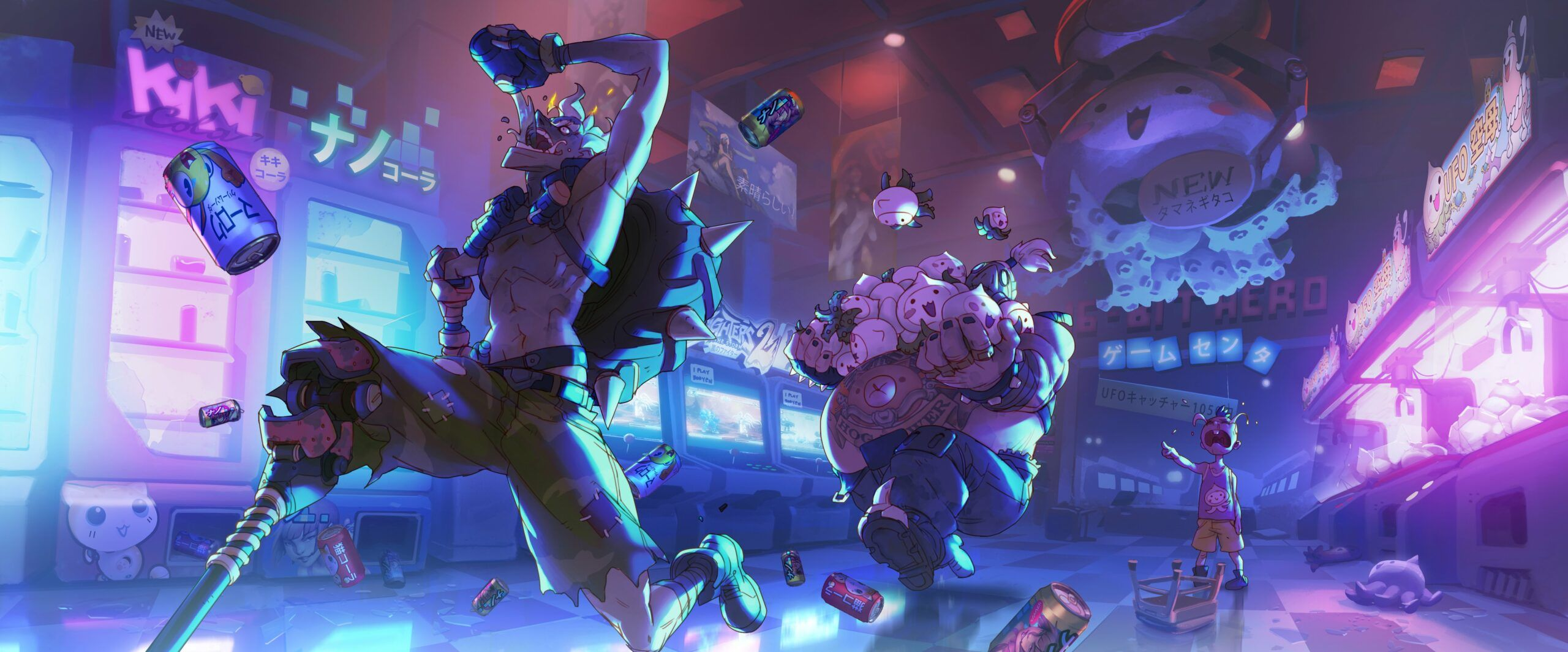 Overwatch Desktop Wallpaper In 2020 Overwatch Wallpapers Overwatch Junkrat And Roadhog