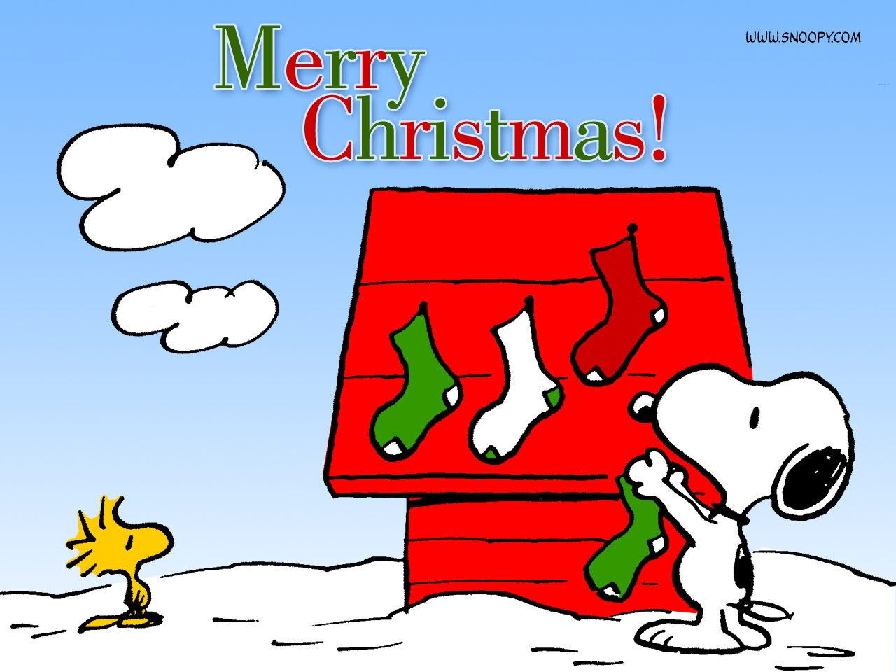 Image result for snoopy christmas clipart""