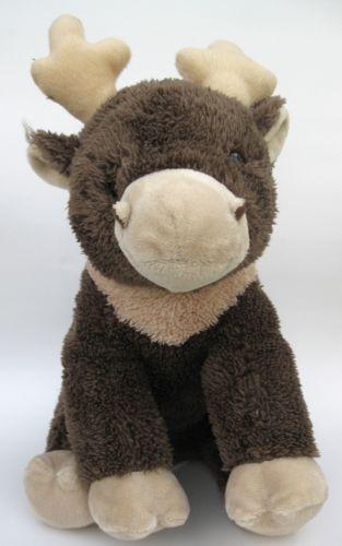 Christmas Moose Plush Lovey Kohl's Cares Stuffed Toy Sitting Lovie Muffin