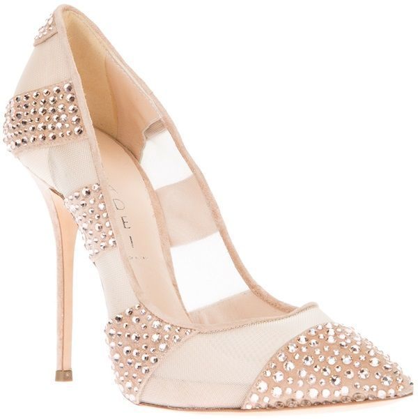 37f7b20bdcb Daffodile Diamond style Pump (inspired by Christian Louboutin)