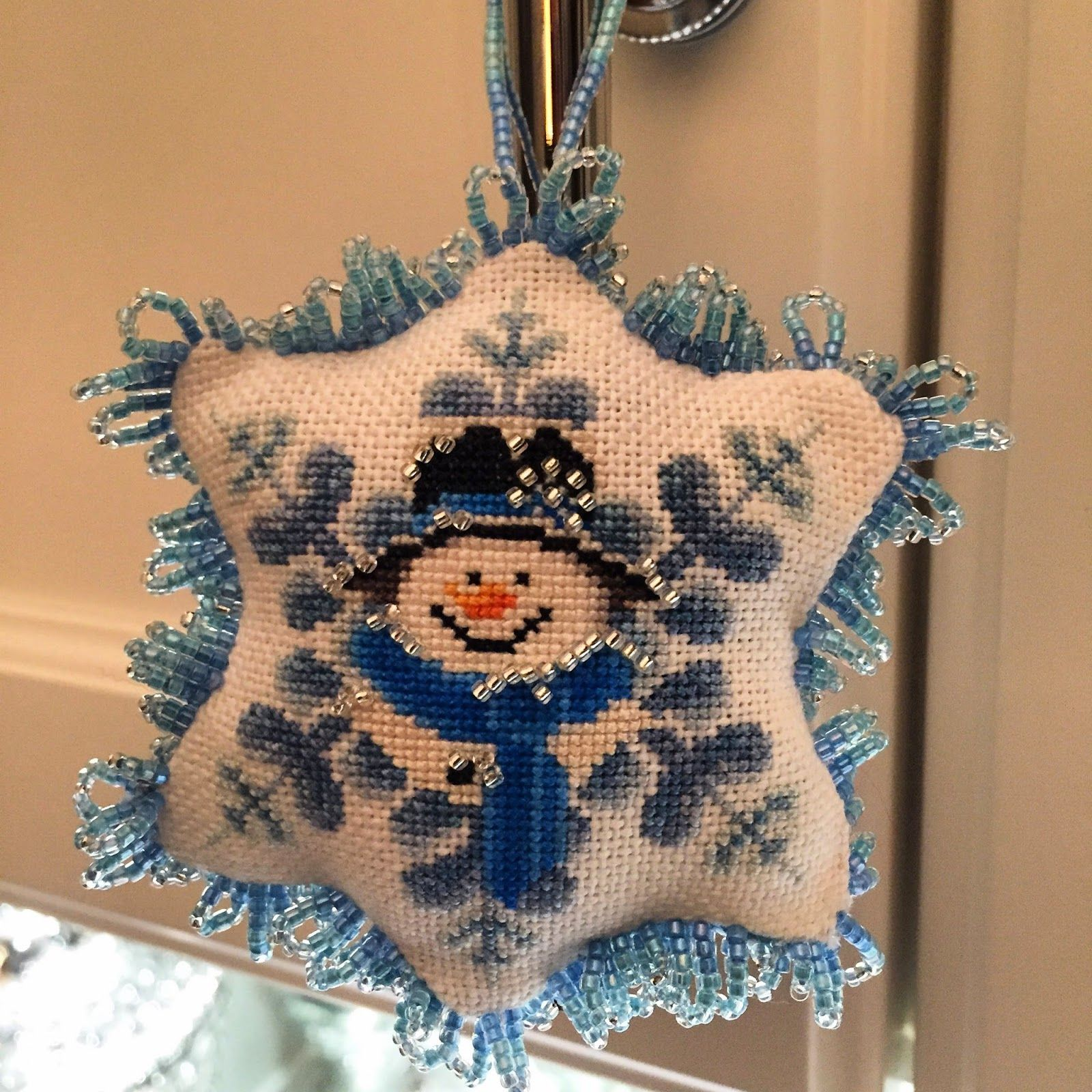 For The Love Of Cross Stitch Ornament