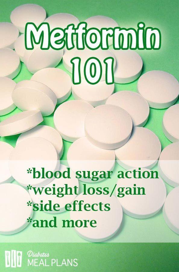 metformina tipo 1 diabetes pérdida de peso