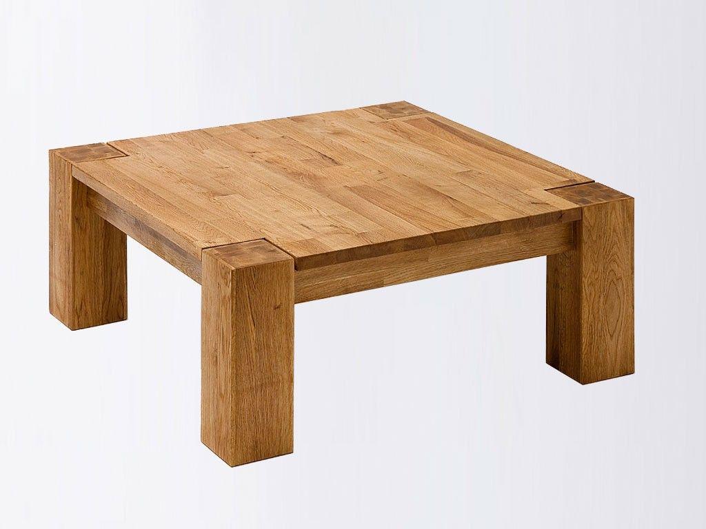Mesa De Centro Sencilla De Estilo Rustico Muebles En Madera  # Muebles Pucon Pino Oregon