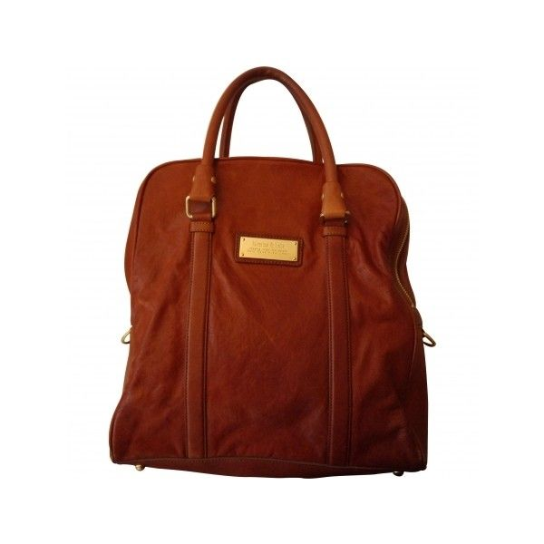 Pre-owned Bimba & Lola Handbags ($124) ❤ liked on Polyvore featuring bags, handbags, tote bags, tote purses, purse tote bag, tote handbags, handbag purse and brown tote handbags