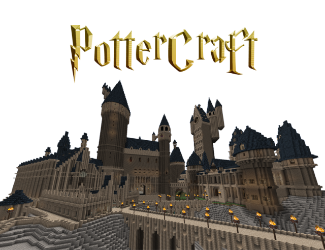 Pottercraft Map For Minecraft 1 8 1 7 10 And 1 7 2 Map Minecraft Maps Download Minecraft 1