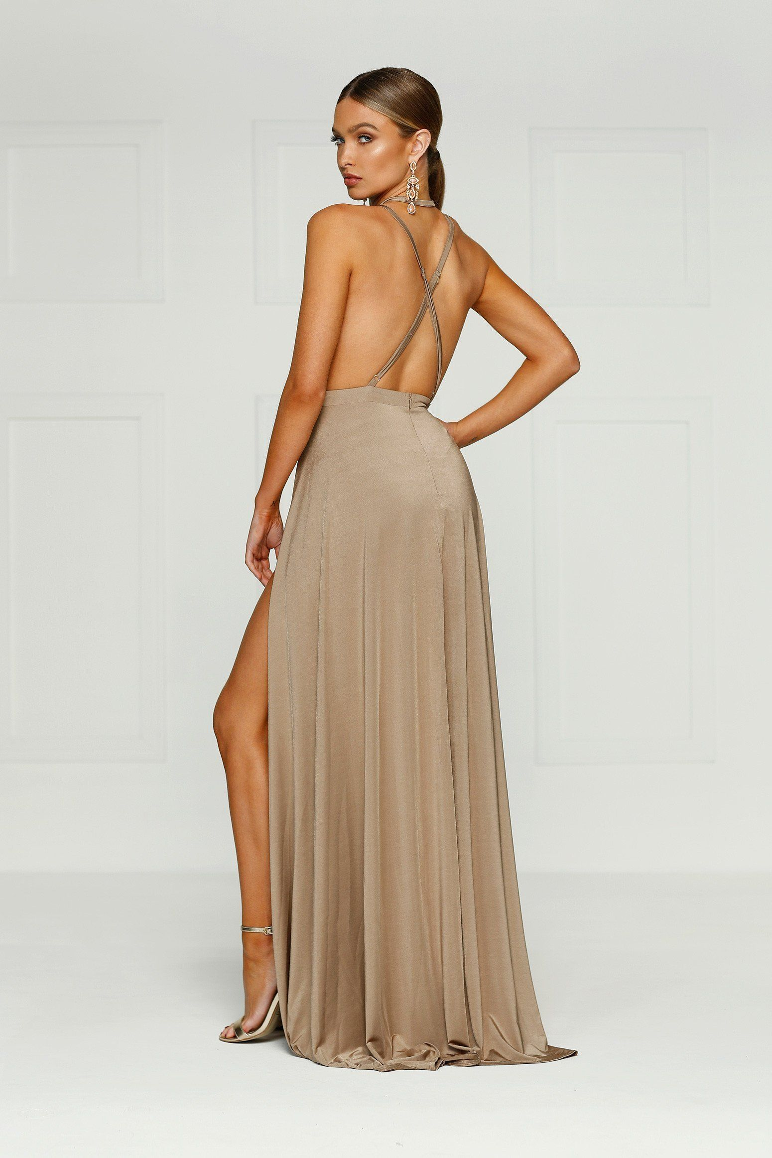 46f18a6252f520 anofficial Stella Jersey Gown - Bronze PRODUCT PAGE = https://anofficial.com