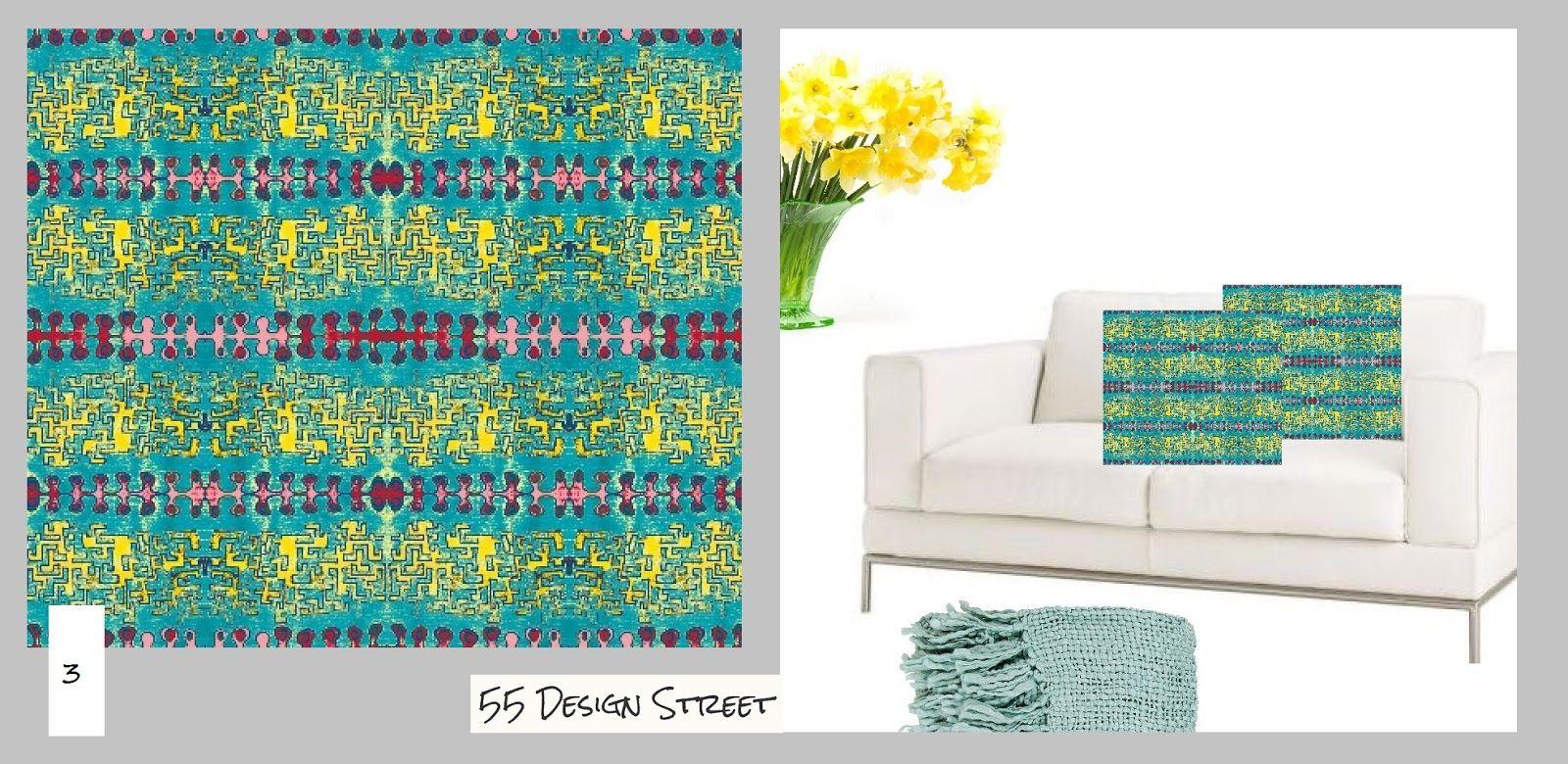 55 Design Street: Colour and more colour