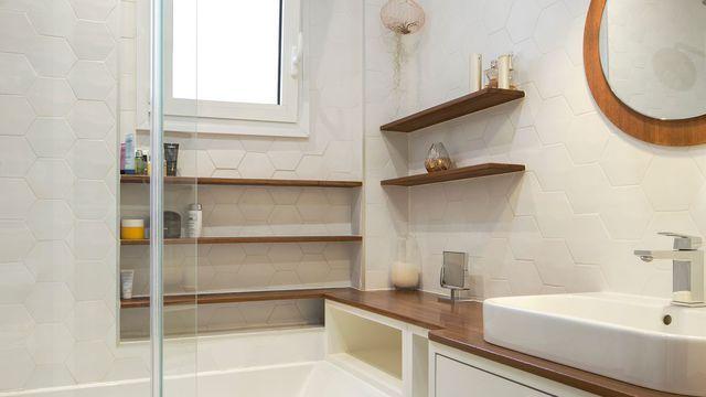 Rangement salle de bain bien pensé par les pro