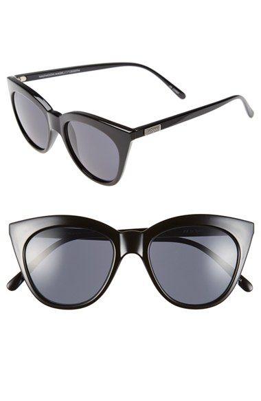 052b3fbf34 Le Specs  Halfmoon Magic  51mm Cat Eye Sunglasses available at  Nordstrom