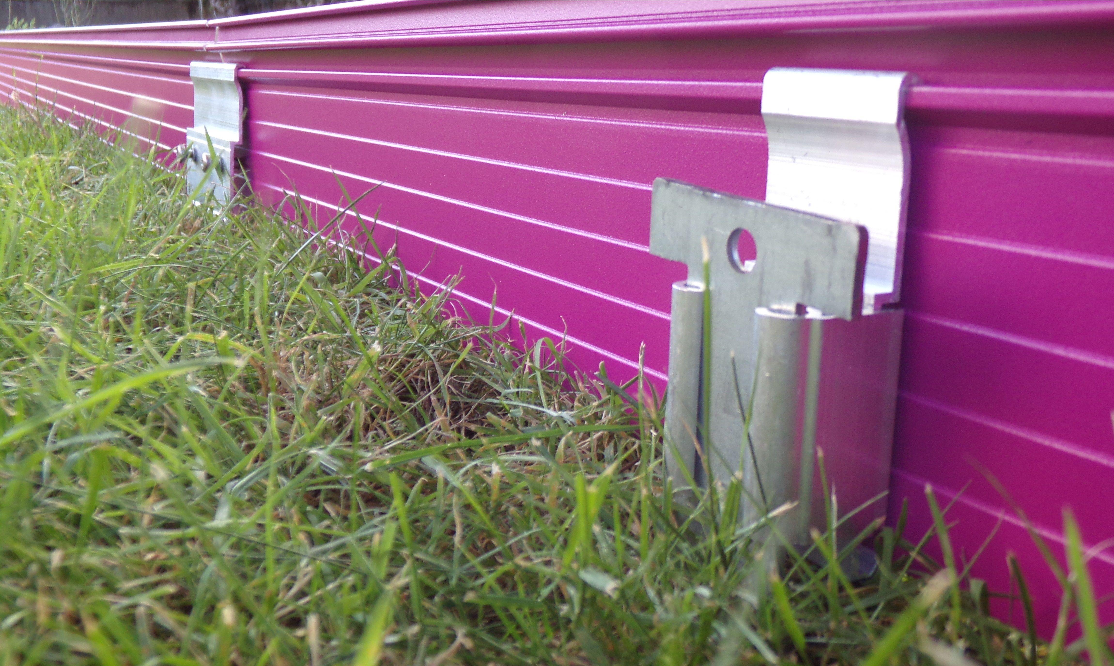 Volige Souple De S Paration Bordure De Jardin En Aluminium Laqu  # Bordure De Jardin Faire Soi Meme