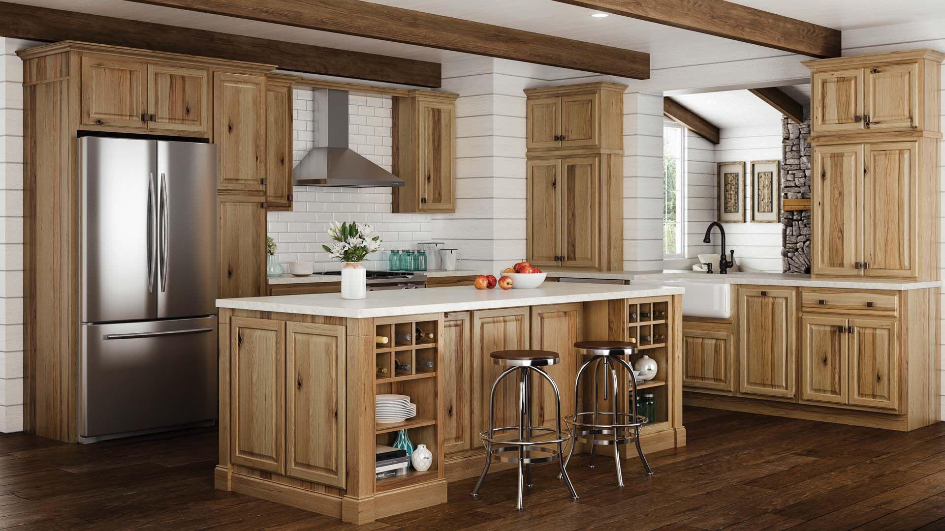Automatic Kitchen Cabinets Hickory Kitchen Hickory Kitchen Cabinets Hickory Cabinets