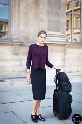 STYLE DU MONDE / Paris FW SS2014 Street Style: Cameron Russell  // #Fashion, #FashionBlog, #FashionBlogger, #Ootd, #OutfitOfTheDay, #StreetStyle, #Style