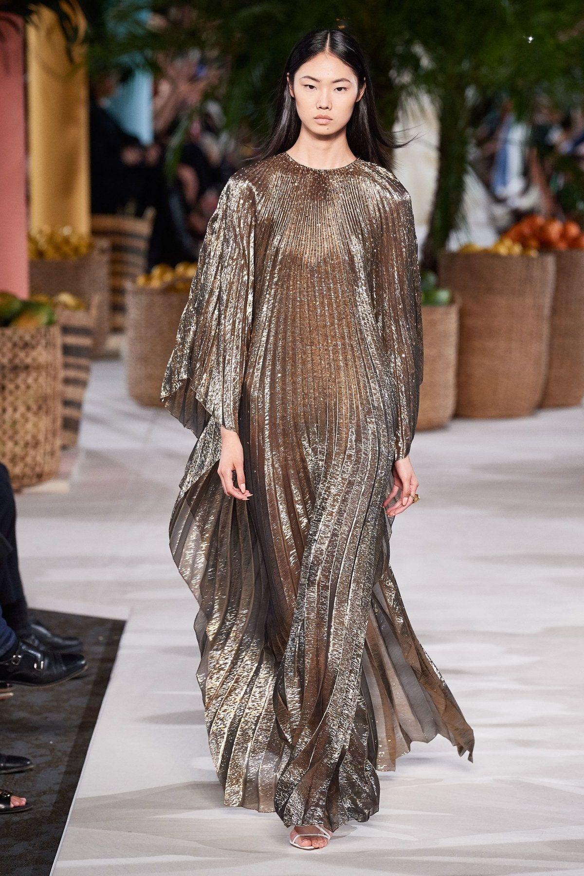 Photo of Oscar de la Renta Mote Show klær for klær våren 2020