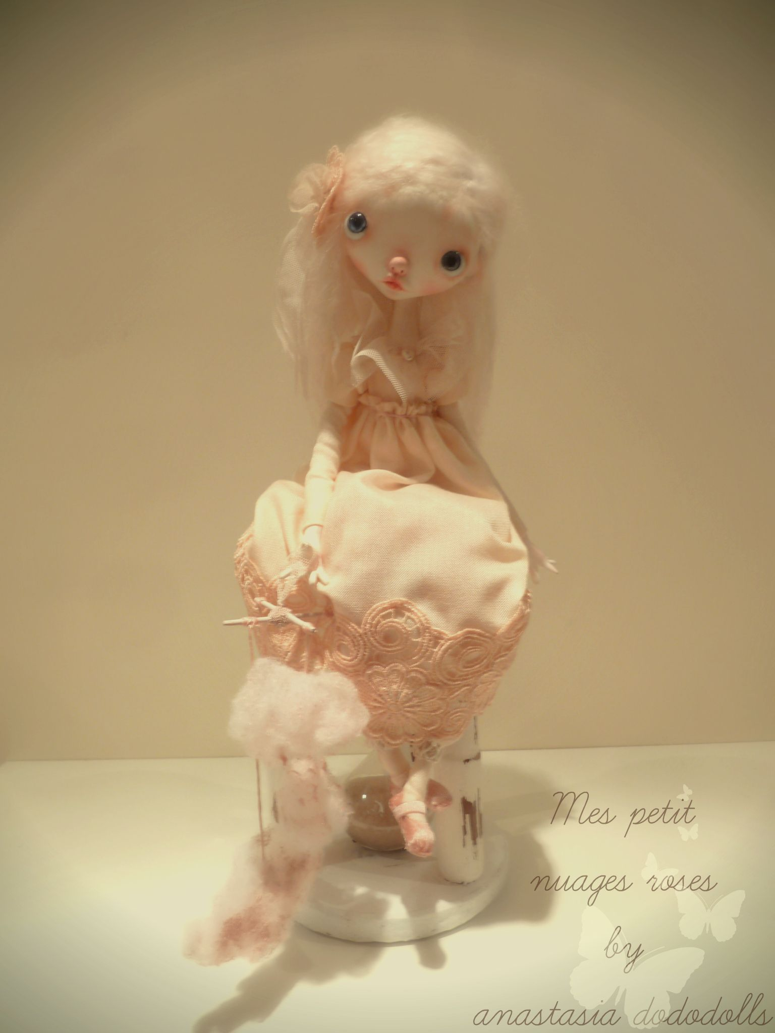 Mes petitis nuages roses by anastasia dododolls