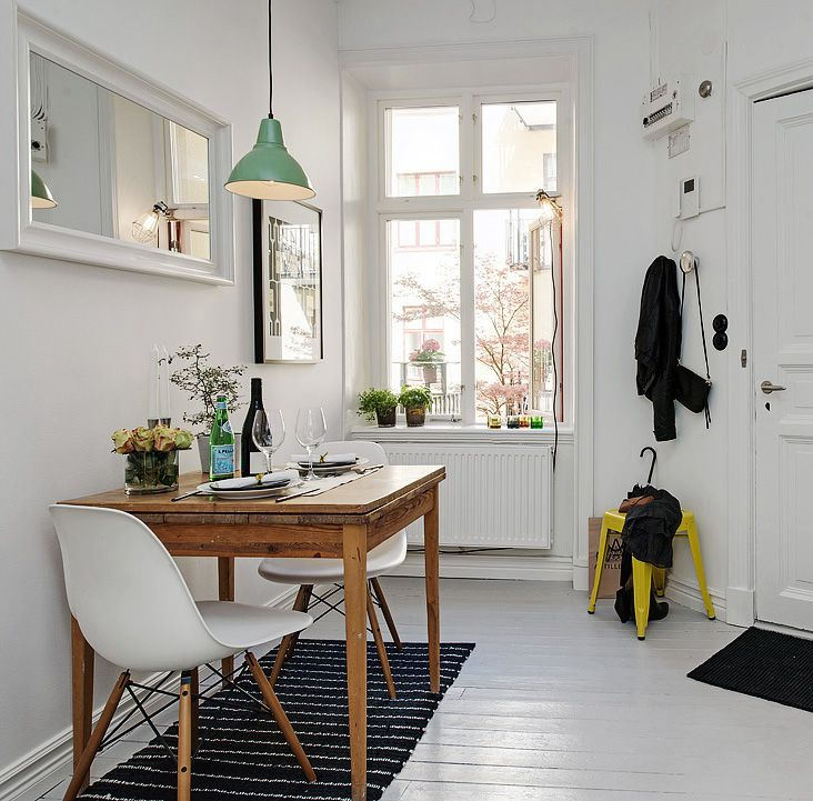 how to create high style in a small studio apartment