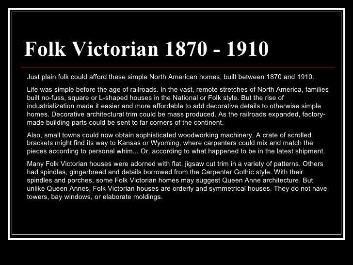 Folk Victorian 1870