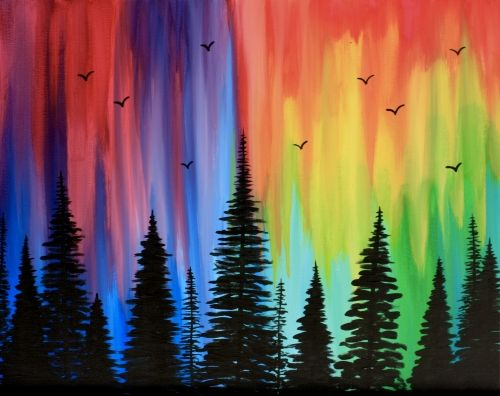 Paint Nite Into The Woods