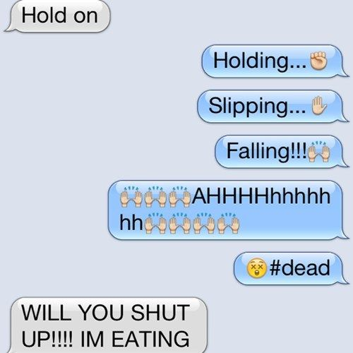 Latest Funny Texts Autocowrecks At Least If You're Dead I Can Finish My Eggs