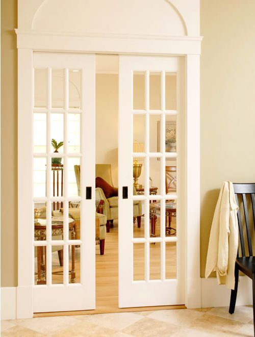 Want A Single Glass Pocket Door In My Entryway So That We