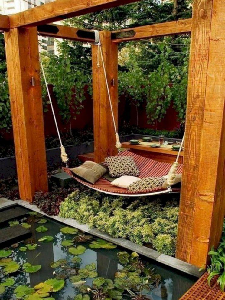 76 Beautiful Zen Garden Ideas For Backyard 160 Modern Garden Furniture Outdoor Canopy Bed Backyard