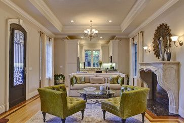 Atherton Project - traditional - family room - other metro - J. Hettinger Interiors