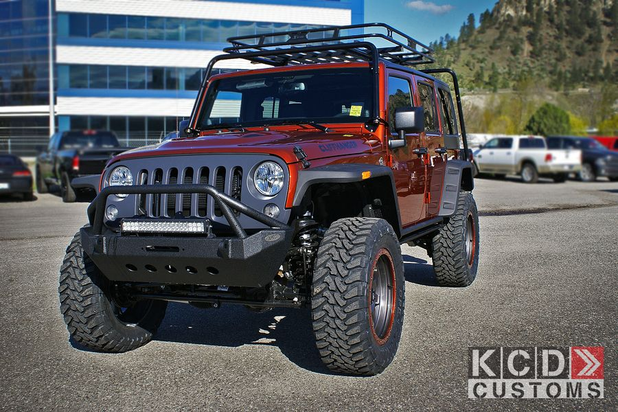 Cliffhanger Jeep Wrangler Unlimited With Mopar 3 Quot Fox