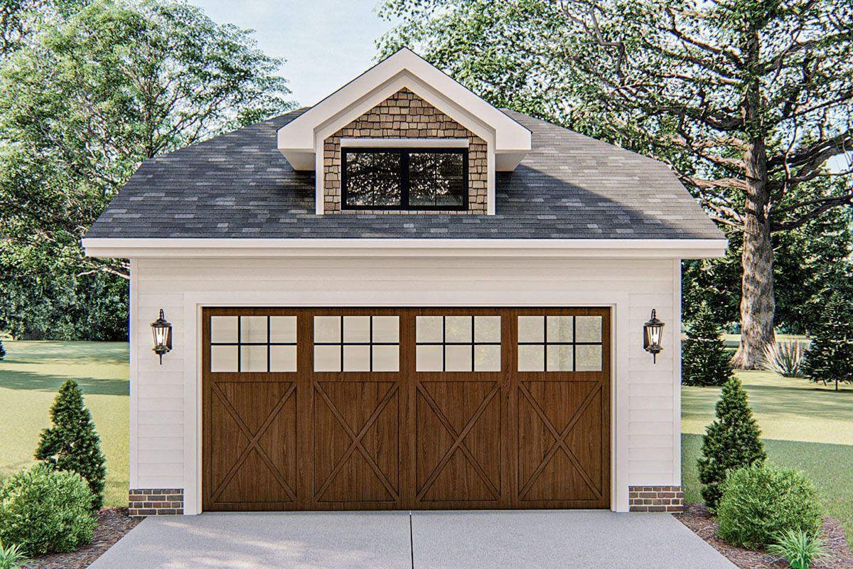 Plan 62916dj Craftsman Style Detached Garage With Workshop Potential In 2020 Craftsman Style Bungalow Detached Garage Designs Craftsman House
