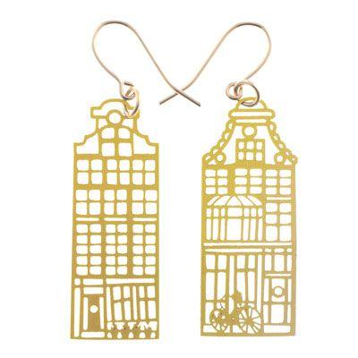 Kohn Gold Amsterdam Earrings