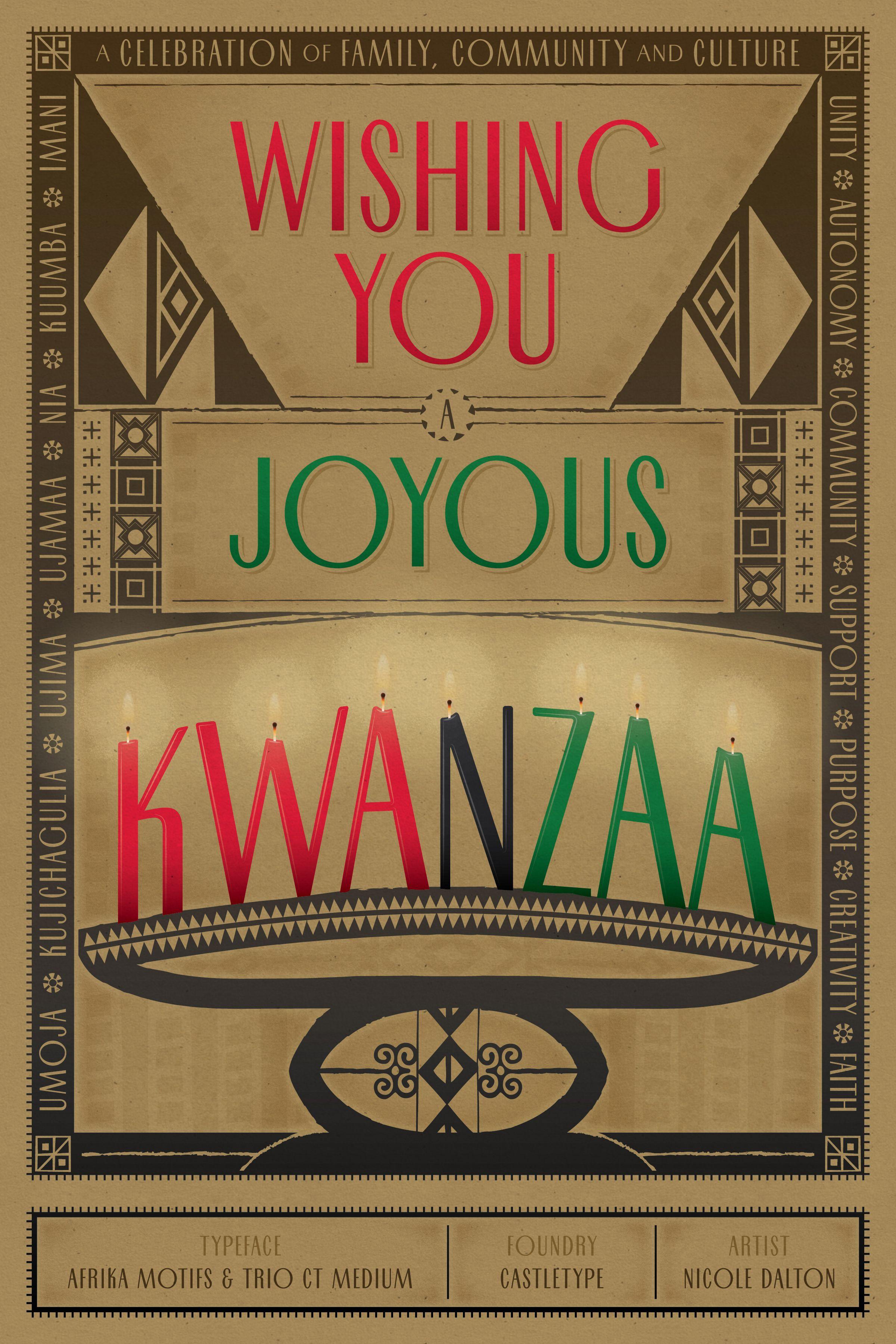 Wishing You A Joyous Kwanzaa