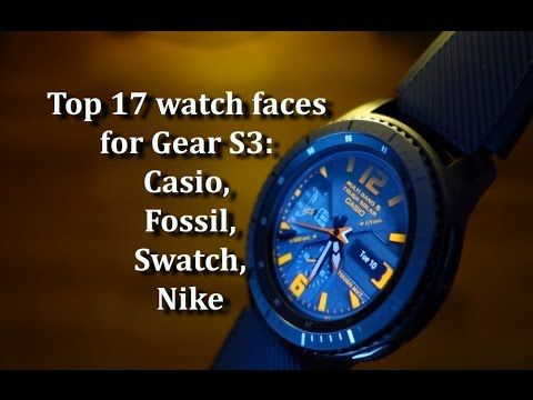 1f66c3bdc465 Top 17 watch faces for Gear S3  Casio