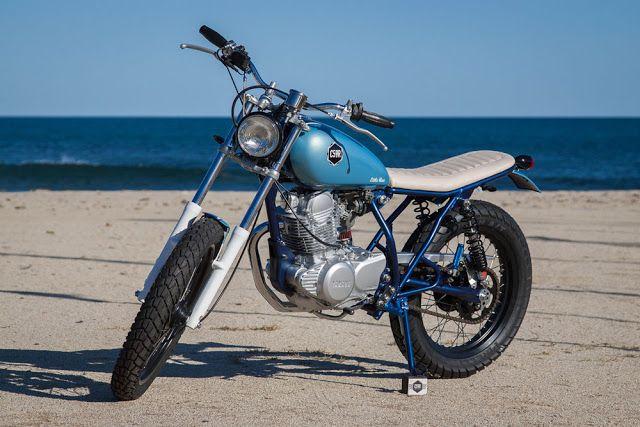 C59R Little Blue Yamaha SR250 ~ Return of the Cafe Racers