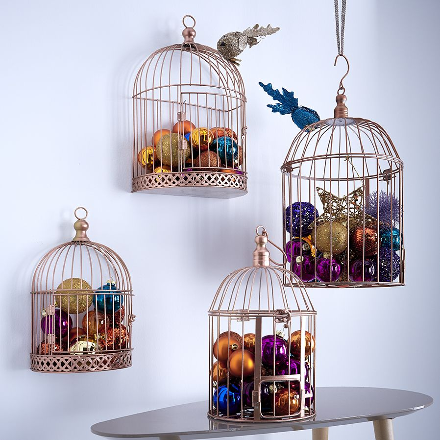 Id e d co noel cage oiseau zodio no l for Idee deco salon petite piece