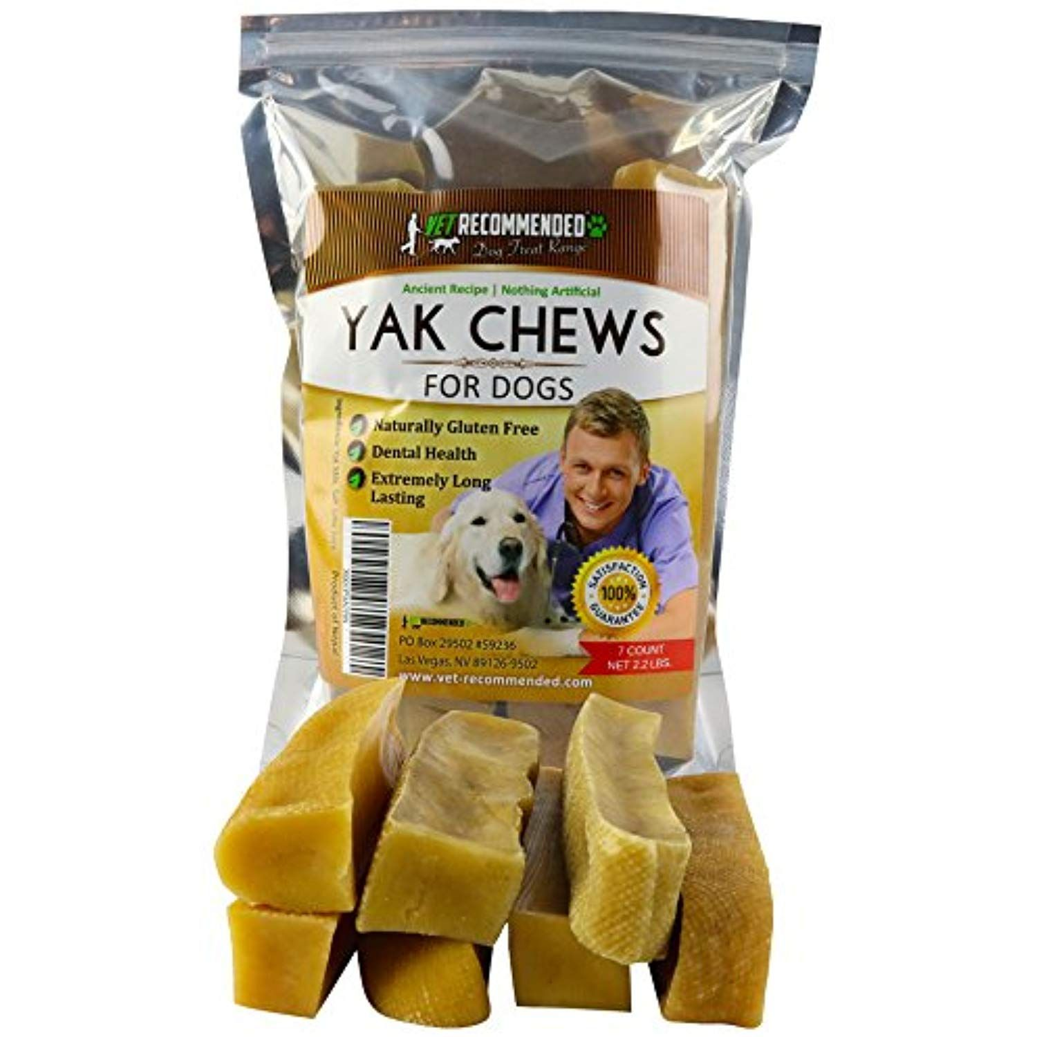 New Vet Recommended Yak Chew 7 Count Bulk 2 2lb Himalayan