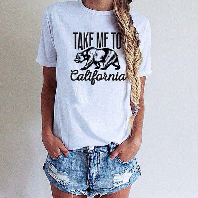 ...California T-Shirt...