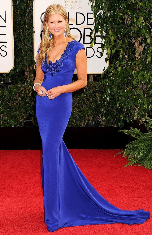 Golden Globes 2014 Red Carpet Dresses: Nancy ODell in Marchesa